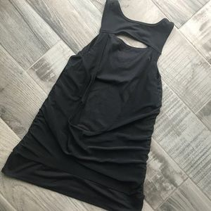 MPG Tops - Ruched fitness tank